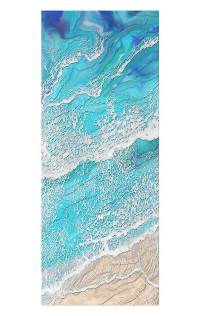 Ocean Breeze Yoga Mat