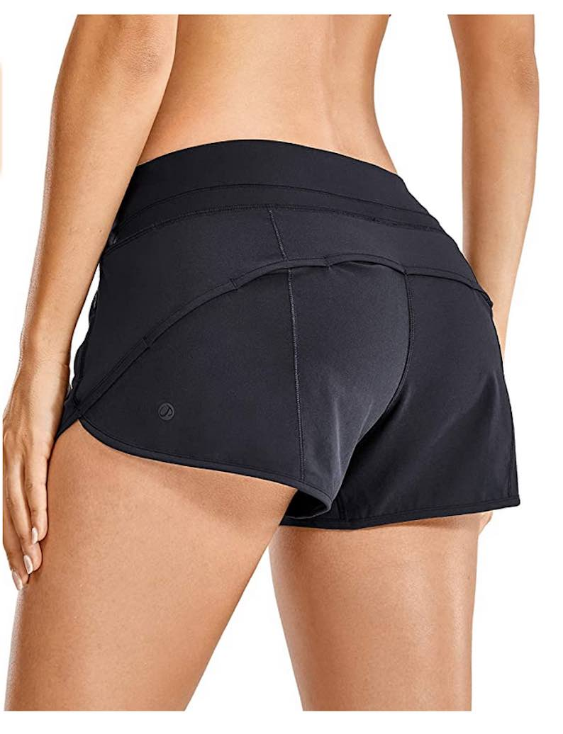 Women's Quick-Dry Workout Sports Active Running Shorts