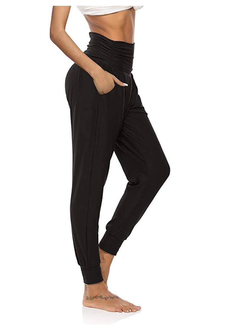 Loose Workout Joggers Pants Comfy Lounge Pants with Pockets