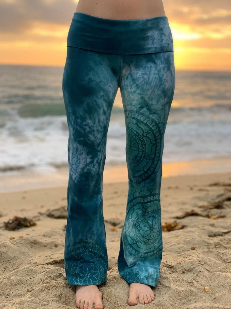 Ocean Dream Yoga Pants