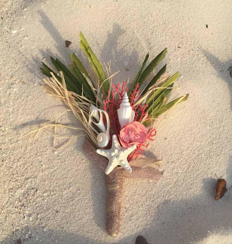 Tropical Beach Wedding Bouquet