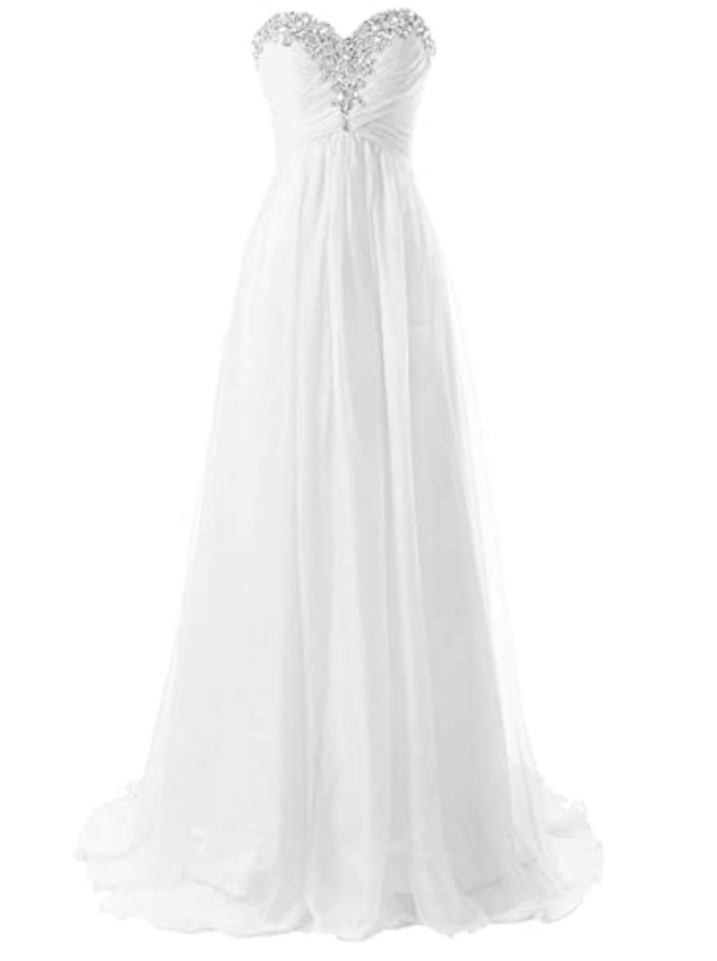 Beach Bridal Dress