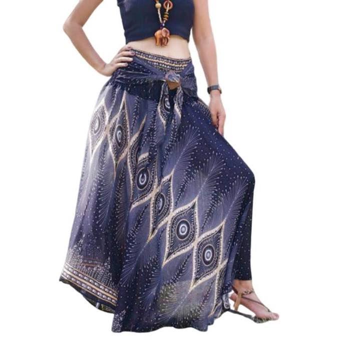 Boho Hippie Skirt by Foutaz