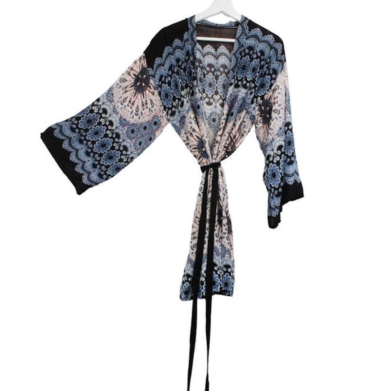 Boho Kimono Jacket by Foutaz