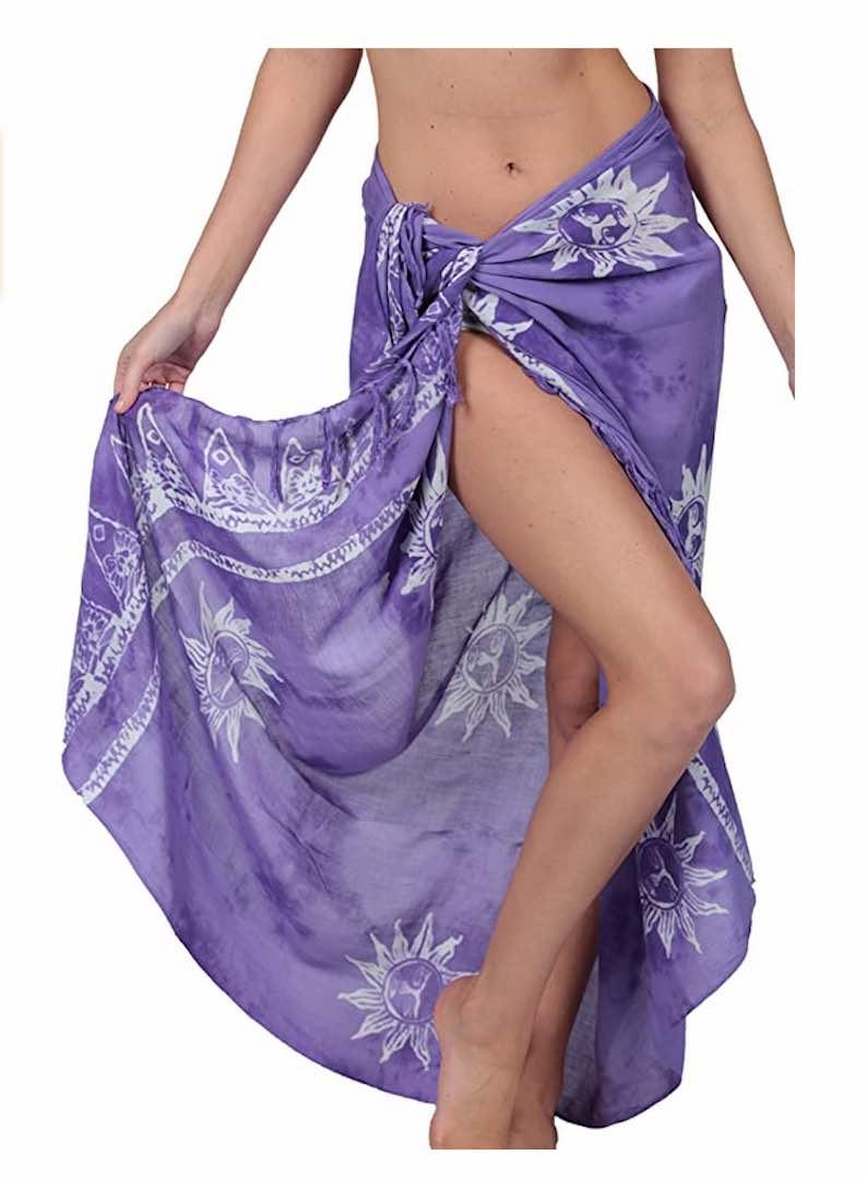 Batik Swimsuit Coverup by InGea