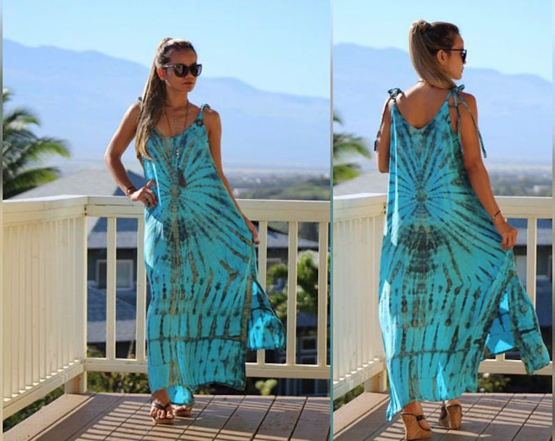 Tie-Dye Dress by Primitive Vibes Hawaii