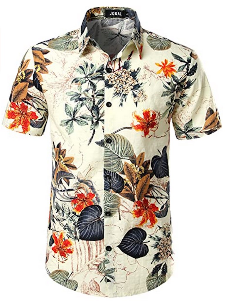 Flower Hawaiian Shirt