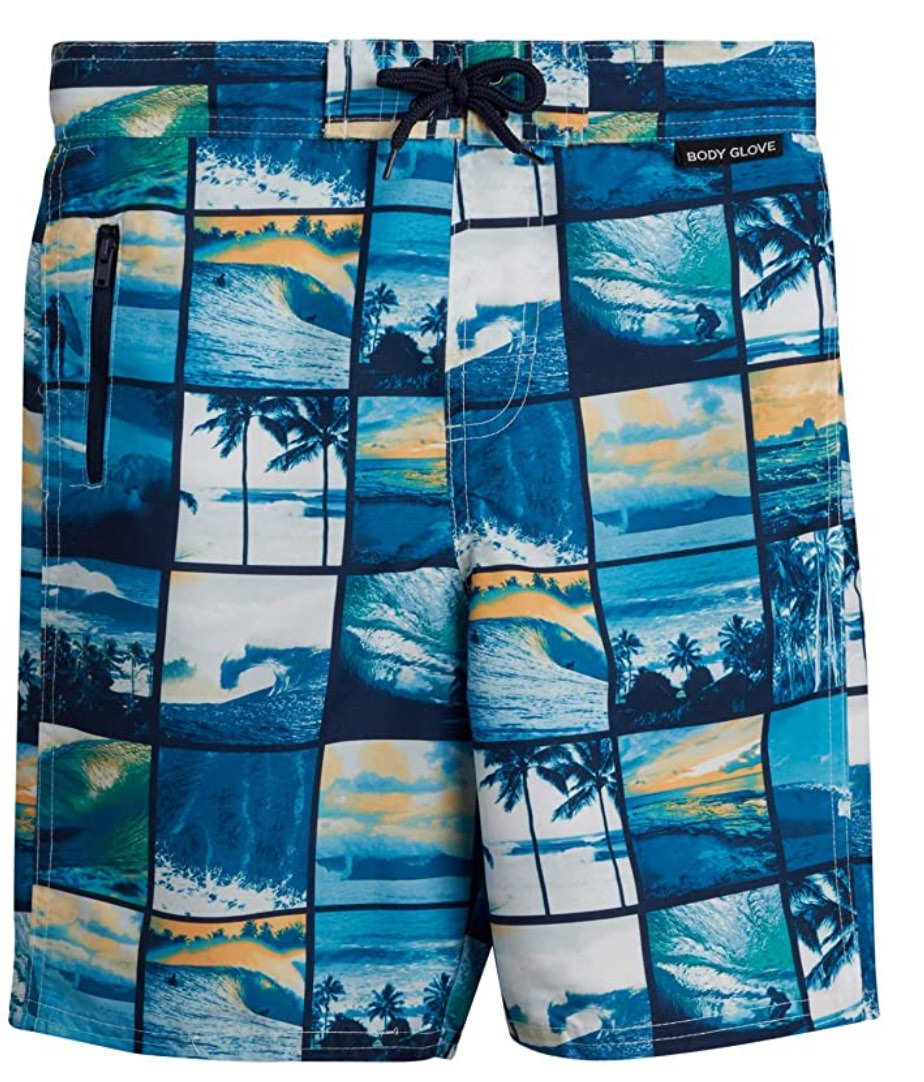 Photo Montage Board Shorts