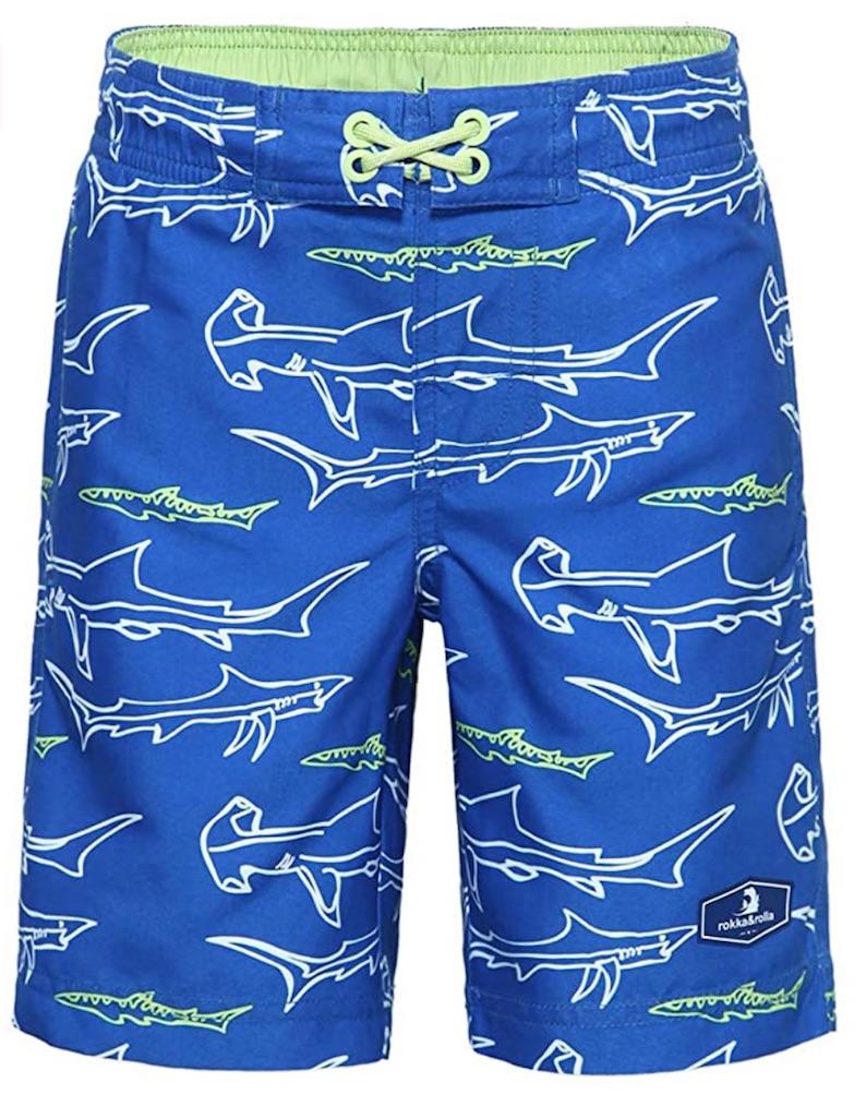 Quick Dry Shark Board Shorts