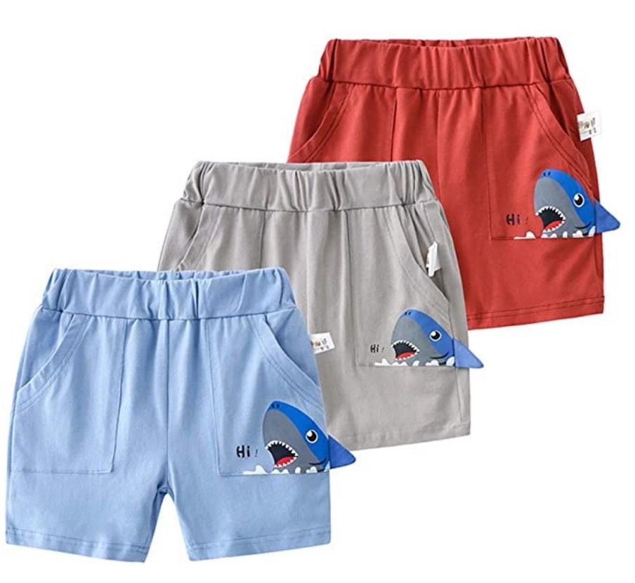 Boys Summer Cotton Casual Sport Pants