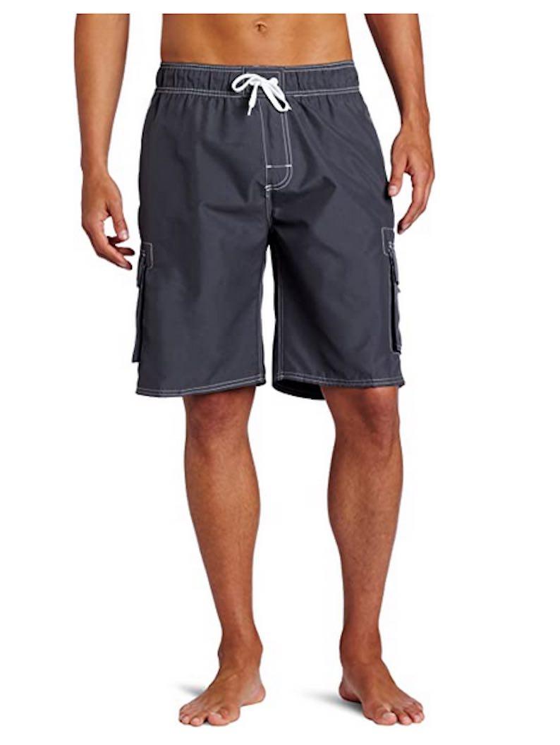 Long Swim Trunks