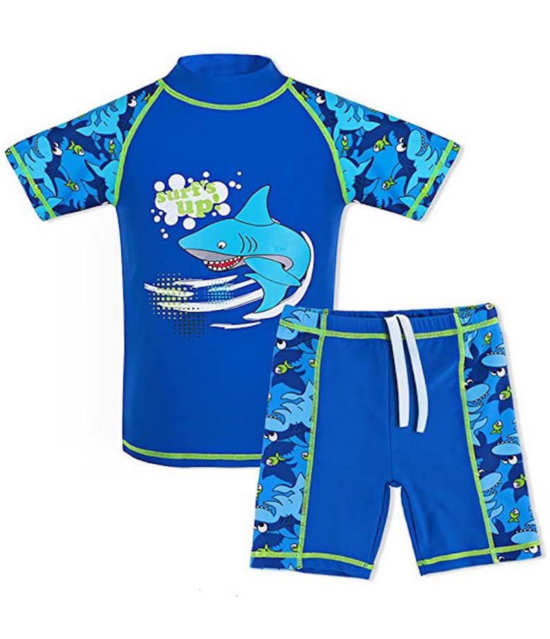 Boys Swimsuit UPF 50+ UV Sun Protective