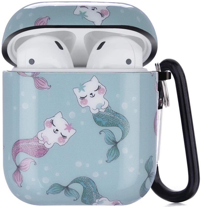 Mermaid Cats Airpod Case