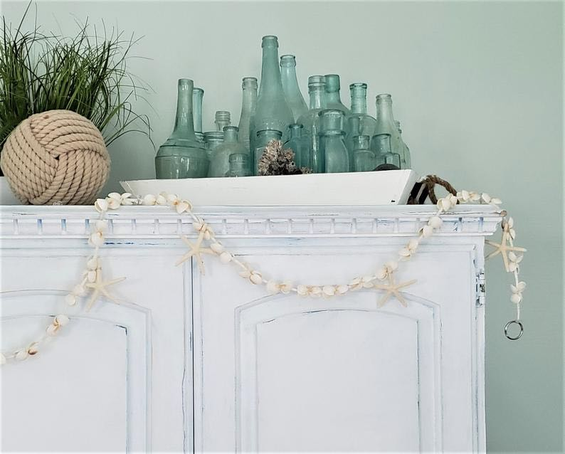 Nautical Decor Starfish Garland