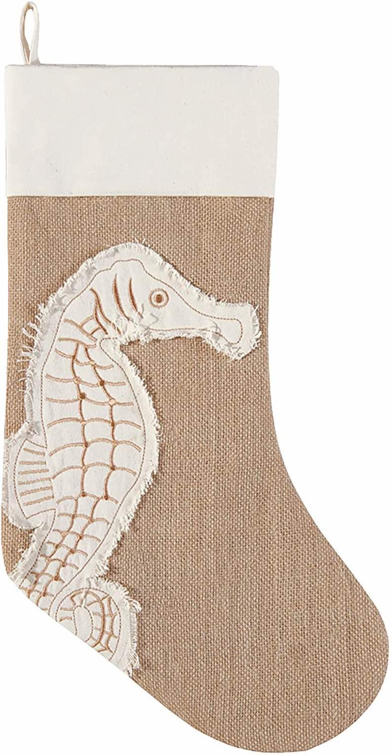 Merry Coastmas Seahorse Stocking