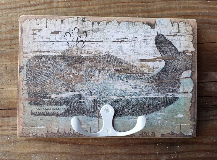 Whale Wall Hanger