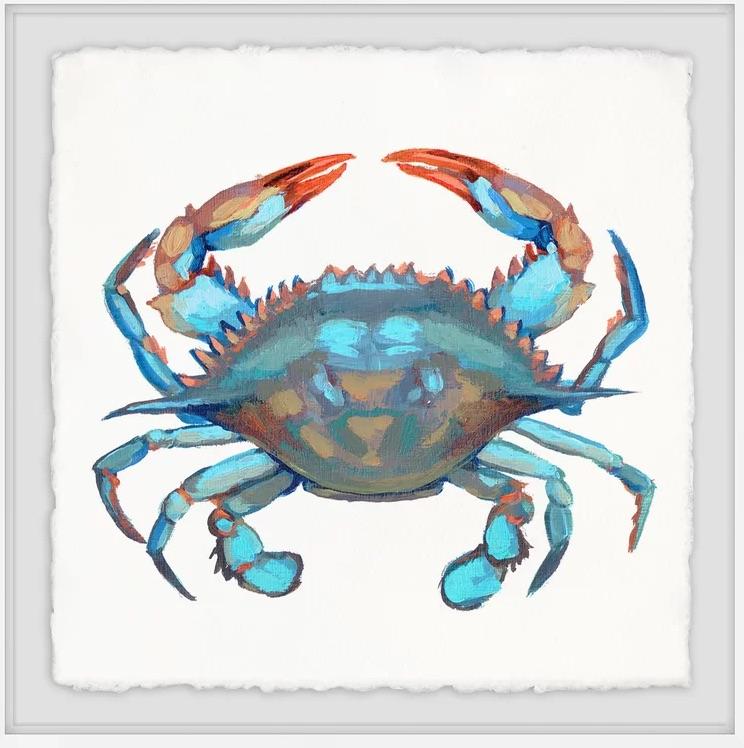 Icy Blue Crab