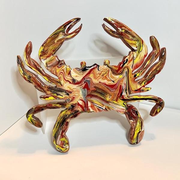 Maryland Acrylic Crab