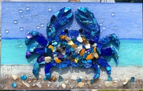 Mosaic Crab Delight