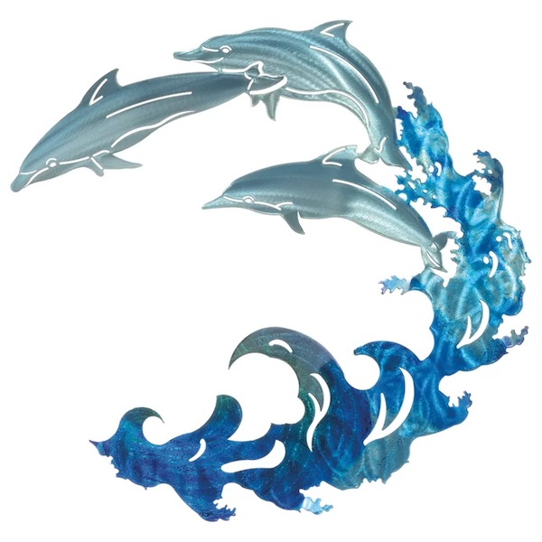 Dolphin Art: 3D Large Dolphins