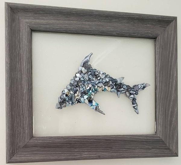 Dolphin Art: Dolphin Beach Art