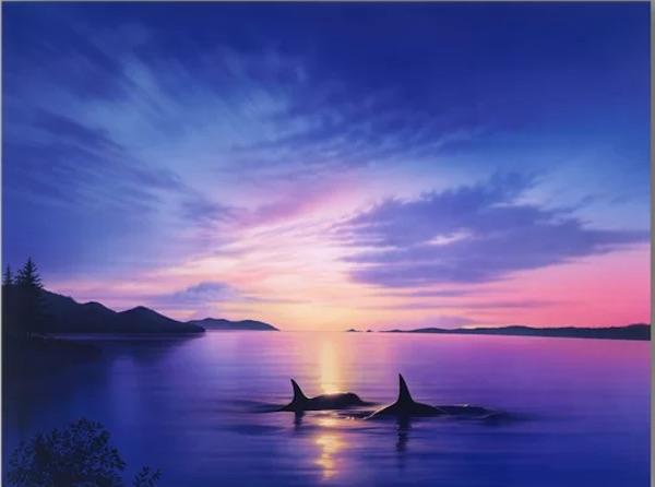 Dolphin Art: Homecoming