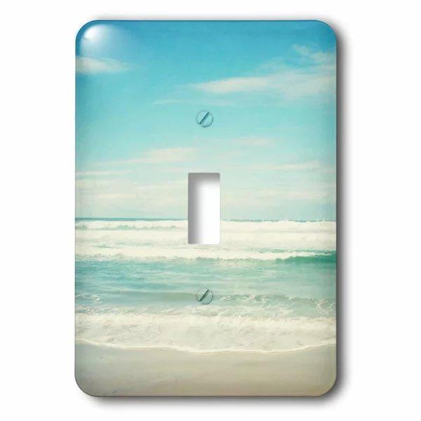 Ocean Waves Light Switch Plate