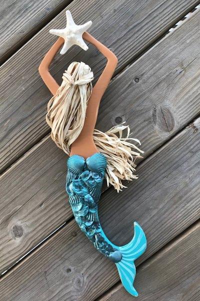 Wooden Mermaid