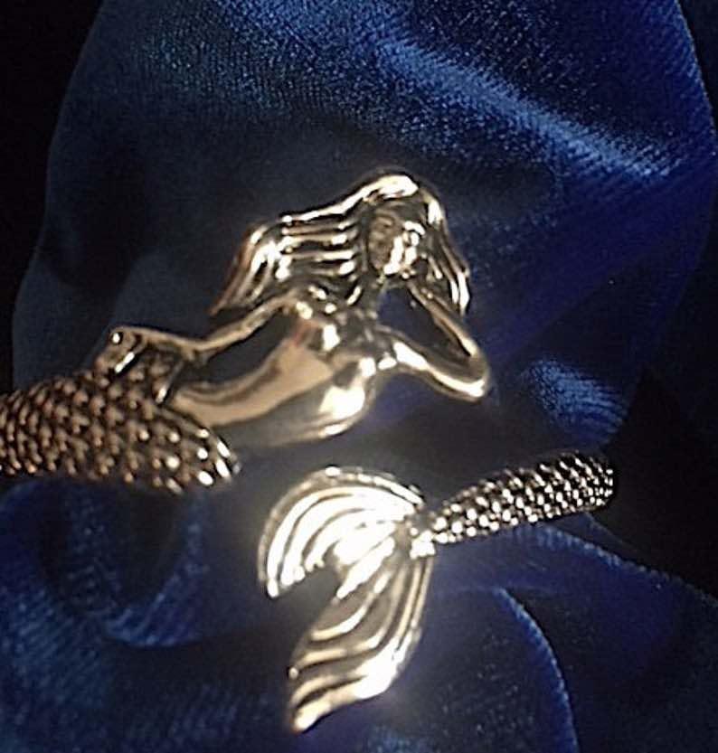 Bronze Mermaid Bracelet
