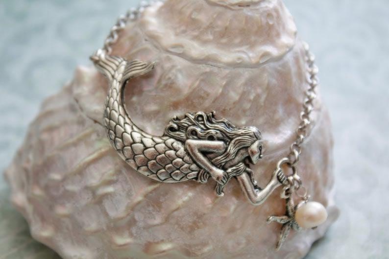 Cuff Mermaid Bracelet