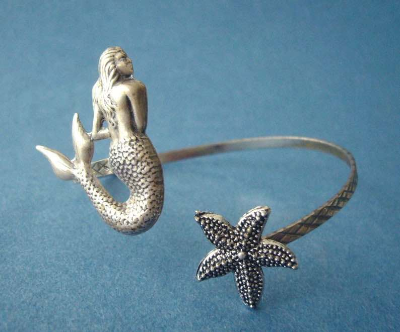Mermaid & Starfish Bracelet