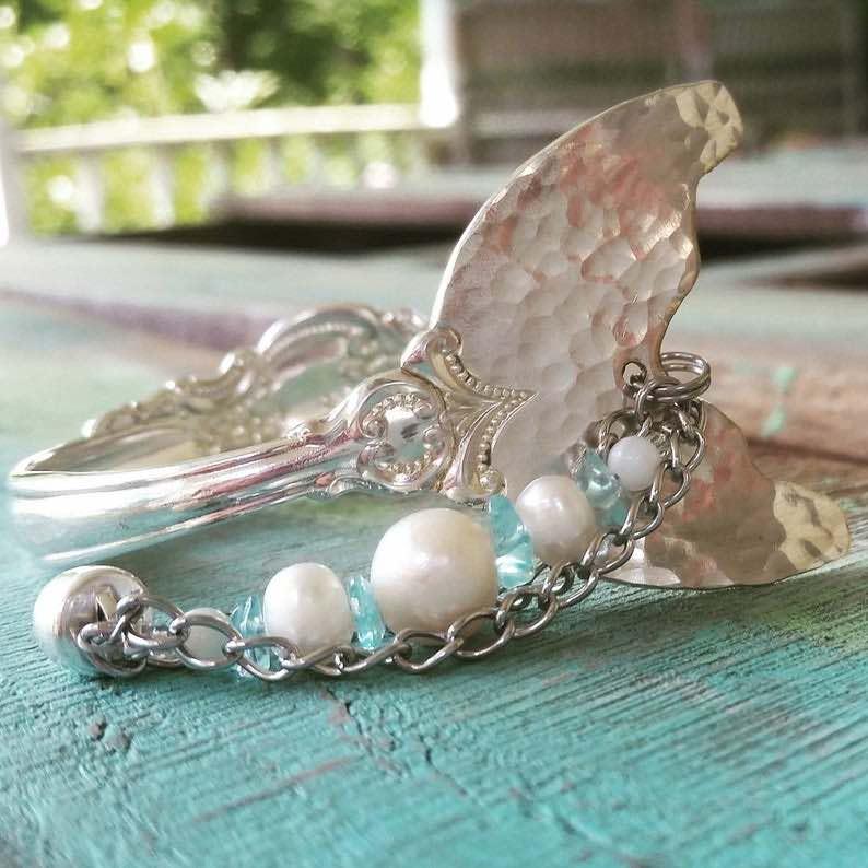 Mermaid Tail Spoon Bracelet