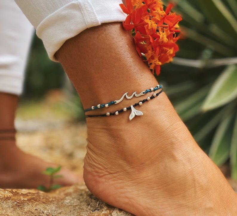 Mermaid's Tail Anklet