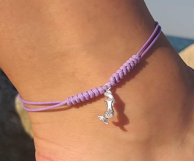 Mermaid Cord Anklet