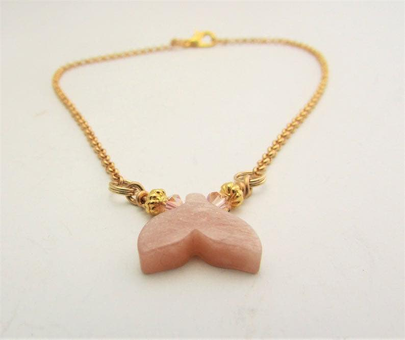 unstone Mermaid Fin Tail Anklet