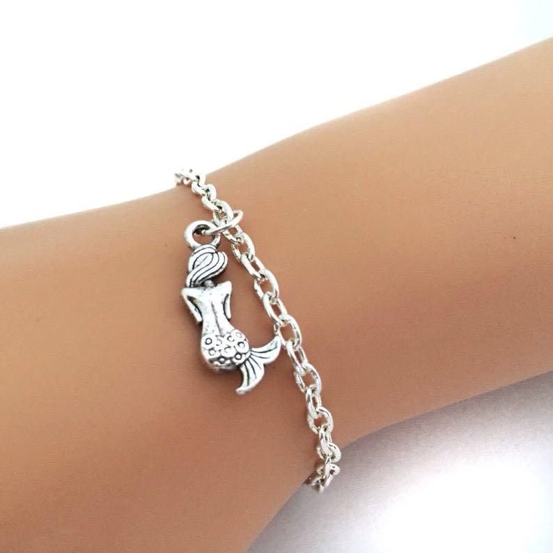 Silver Mermaid Bracelet