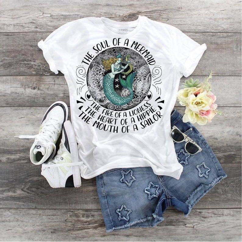 """Soul Of A Mermaid"" T-Shirt"