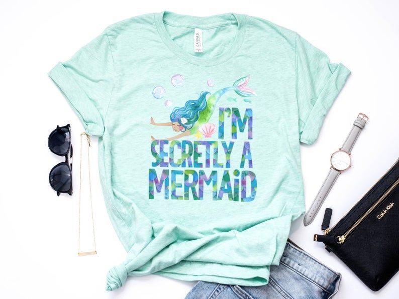 """""""I'm Secretly a Mermaid T-Shirt"""""""