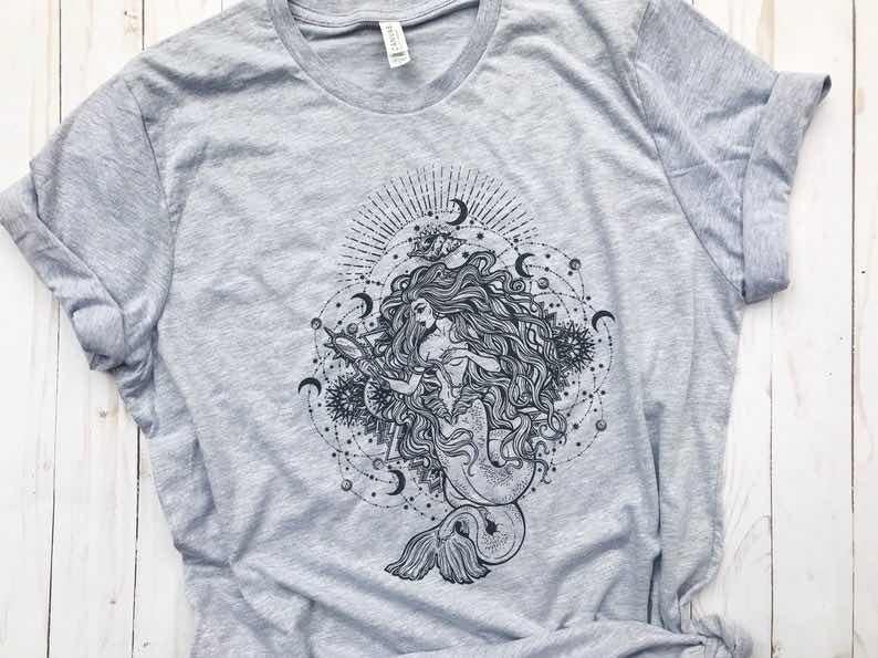 Celestial Mermaid Shirt
