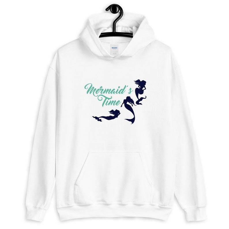 """""""Mermaid's Time"""" Unisex Hoodie"""