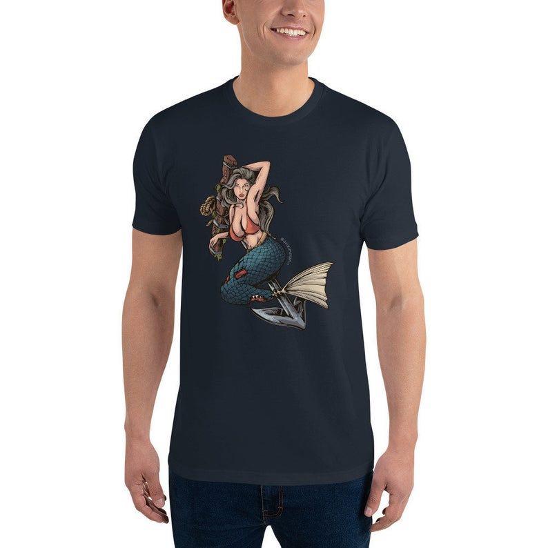 Sexy Siren Full Art Printed T Shirt