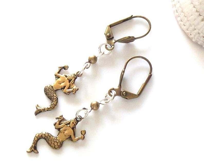 Dainty Mermaids Earrings