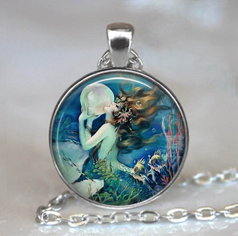 The Mermaid's Pearl Pendant