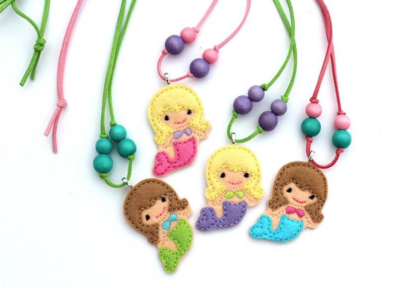 Little Girl's Mermaid Necklace