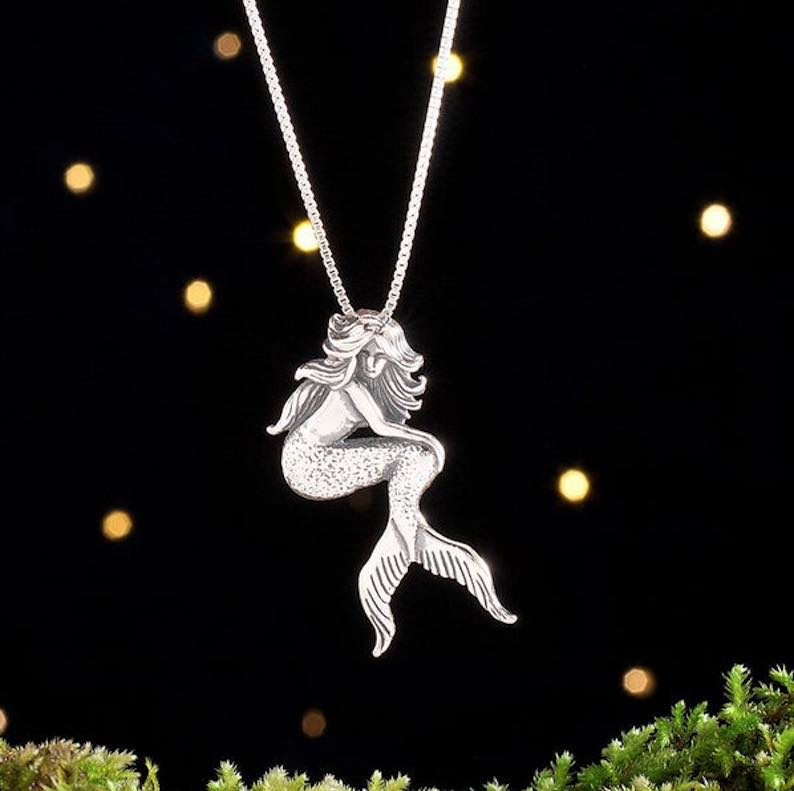 Sterling Silver Mermaid