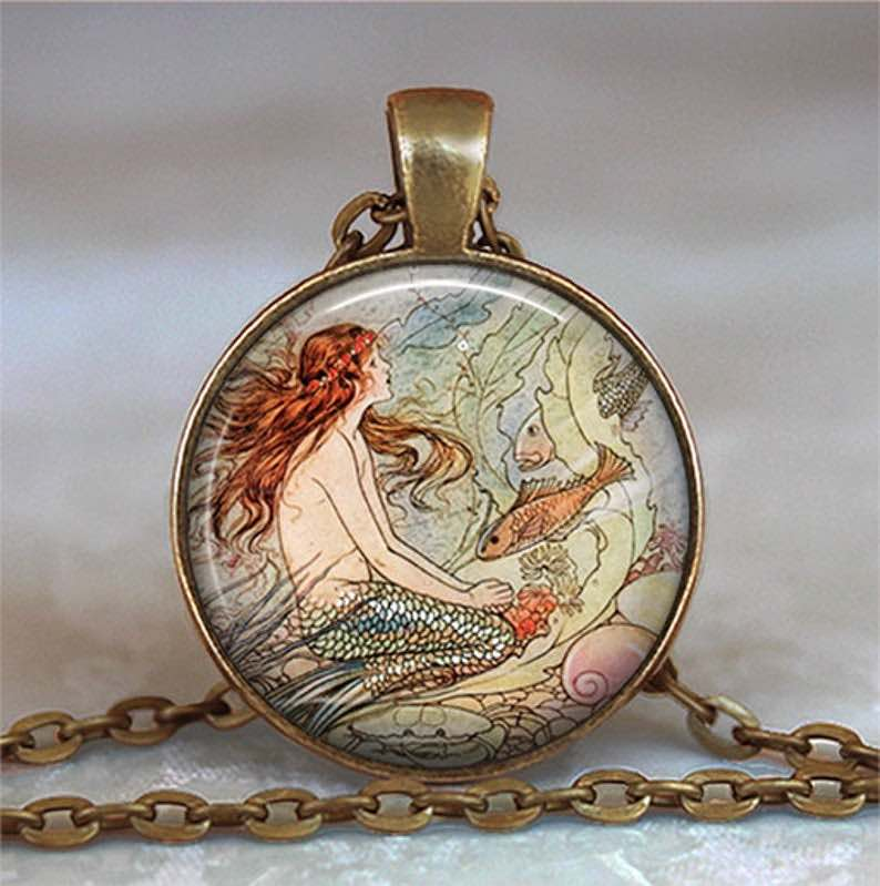 Fairytale Mermaid Pendant