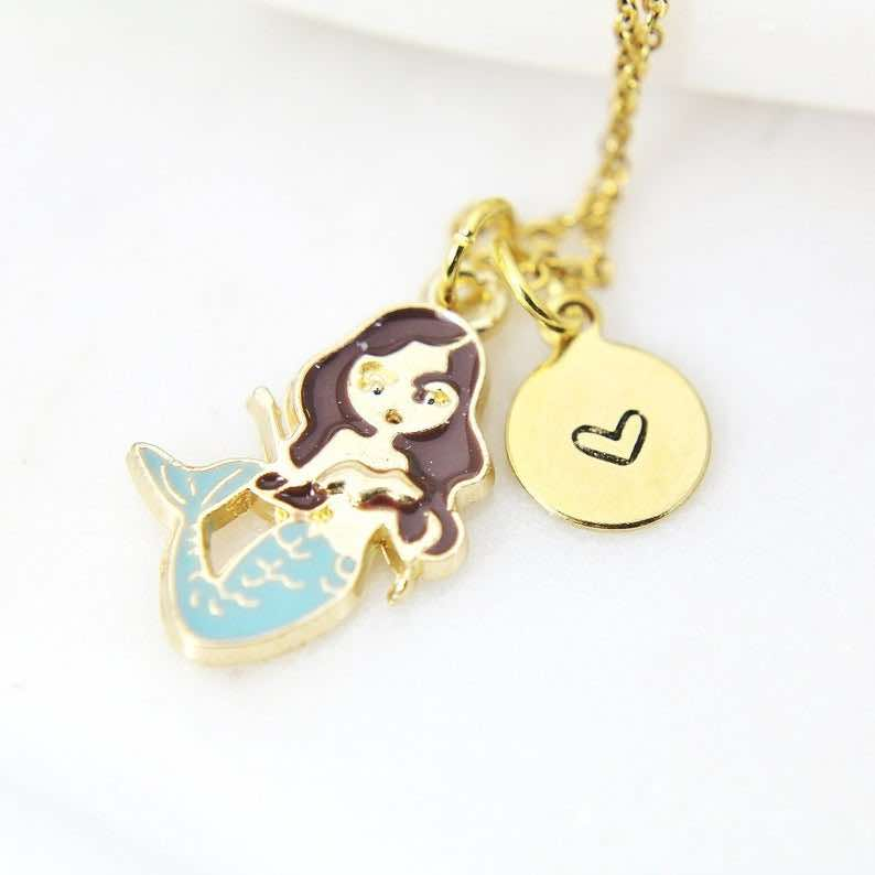 Blue Mermaid Charm