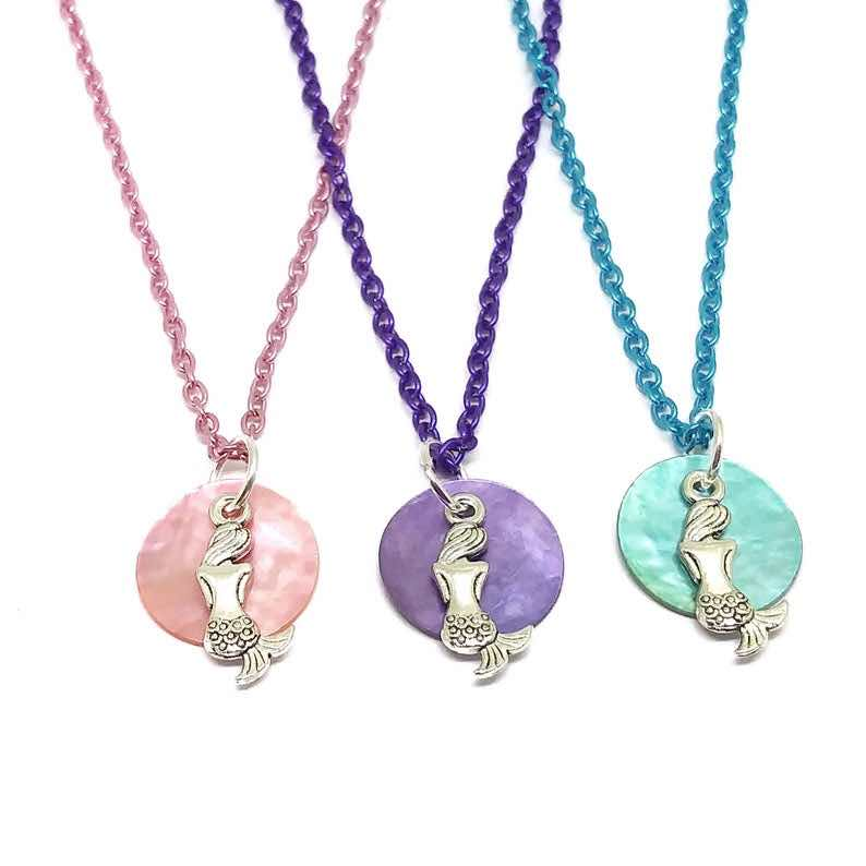 Mermaid Seashell Necklaces
