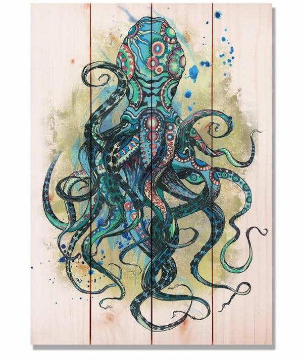 Blue Octopus Ocean