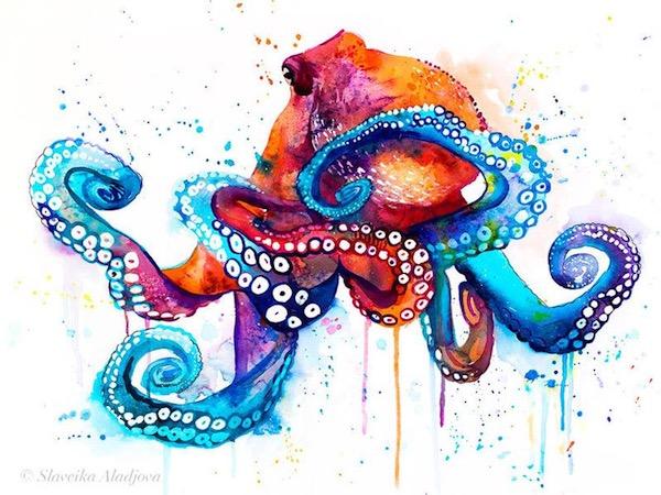 Bright Octopus